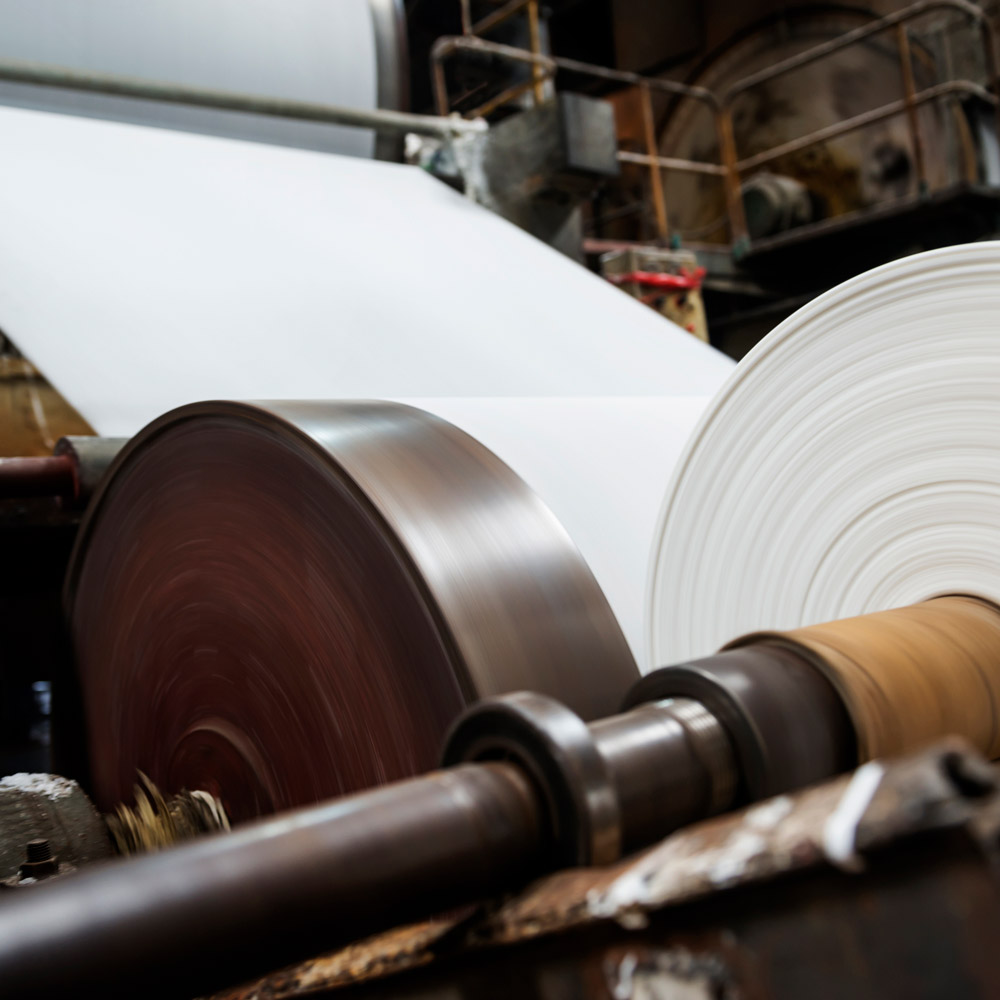 Paper roll manufacturing company product floor rollers